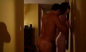 Recopilación con Ashlynn y Justin en escenas profesionales BDSM duras y profundas con provocación de coño, orgasmos fuertes y folladas con creampie