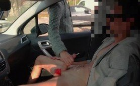 Masturbation in public outside as some car sex occurs and perv is caught masturbating outdoors as the public exhibitionist is a stranger
